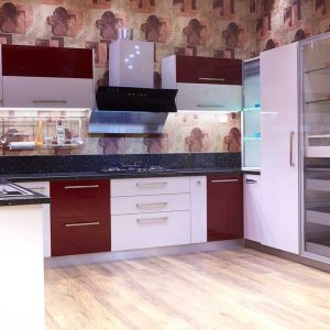 kitchen designs with chimney