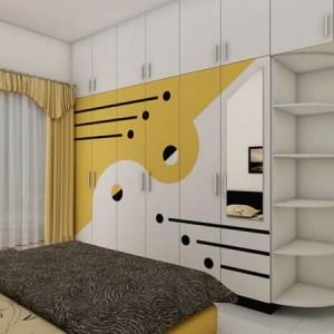 Yellow Bedroom interior design