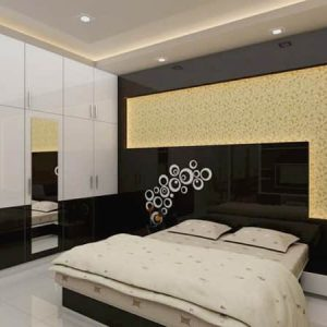 Smart Bedroom interior design