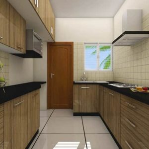 Traditional kitchen interior design