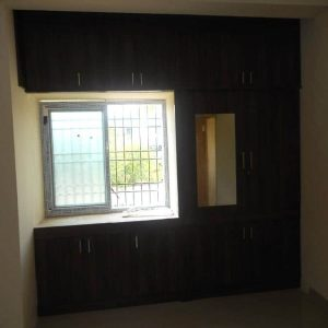 dark brown color wardrobes designs