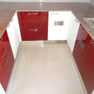 Red Kitchen Designers in Chennai
