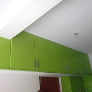 Light Green Color Wardrobe Designs