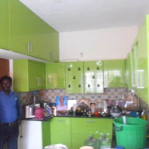 Light Green Kithcen Designers in Chennai