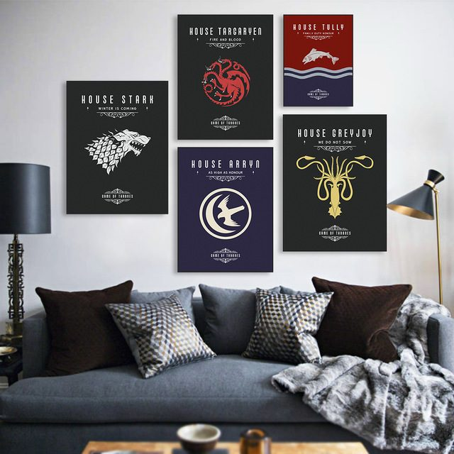 Game of Thrones Home Decor Ideas for Chennai